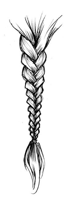 I want to know how to draw a braid, so who ever knows how to can you teach me.  Please and thank you