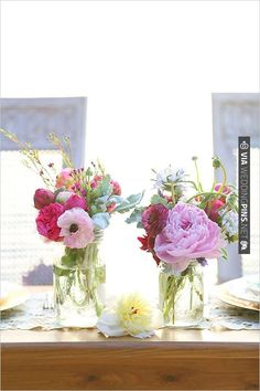 floral centerpieces | CHECK OUT MORE IDEAS AT WEDDINGPINS.NET | #wedding