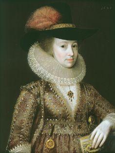 1621 Elizabeth Salter of Flowton by J. Hoskins