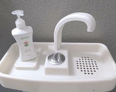 Change your toilet lid into a sink in less than 5 minutes and start saving gallons of water every day!SinkTwice replaces your existing toilet lid, and is designed to rest on top of most toilet tanks made in the last 15 years.WASH YOUR HANDS WITH CLEAN WAT Toilet Sink, New Toilet, Toilet Bowl, Home Depot, Dual Flush Toilet, Water Waste, Water Efficiency, Composting Toilet, Wet Rooms