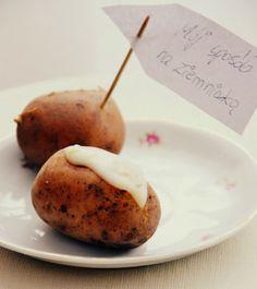 Ziemniaki w mundurkach z pyszną pastą (z maślanki!) / Potatoes with buttermilk paste | Silver Teaspoon