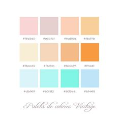 Vintage Colors Palette