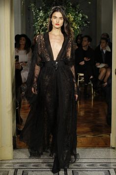 House Tyrell mourning gown | Alberta Ferretti Spring 2017
