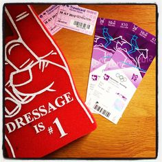 All-access passes for Greenwich Park equestrian events- and a foam dressage finger!