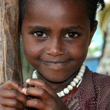 Girl in Doyo village in southeastern Oromia region, Ethiopia. © Miikka Järvinen 2010.