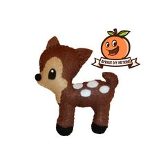 Little Deer Plush - PDF Sewing Pattern And Full Tutorial