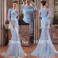 couture blue wedding gowns | ... Dresses from China Prom Dresses Suppliers at Manpei Wedding Store on