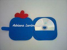 porta CD Galinha Pintadinha