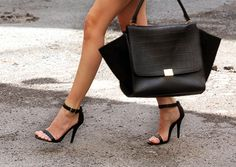 """This is me all wrapped in one shoe! For years I have always worn simple ONE strap stilletos over the toe and over the ankle...that's all you need to make the perfect """"I am sexy and confident"""" statement that matches any dress."""