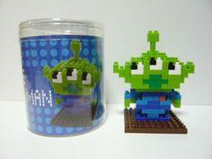 "New Nanoblock Tokyo Disney Resort Exclusive ""Little Green Man "" Japan Gift | eBay"