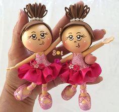 Sol... Artes em EVA: Mini Bailarina...
