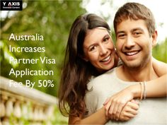 Australian Department of Immigration has announced a 50% increase in application fee for Partner Visa with effect from 1st January, 2015. The announcement from the Abbott government came during the mid-year budget review. Continue Reading..  For more news and updates on immigration and visas, visit Y-Axis News