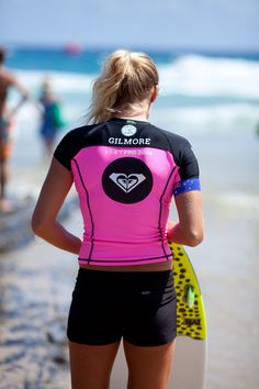 Stephanie Gilmore gearing up for Round 1 at the #ROXYpro Gold Coast