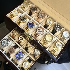 Pick one for the weekend…(or a few) #rolex #heaven by avikoren #howmanyyougot?