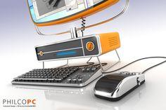 Philco PC- retro computer concept!