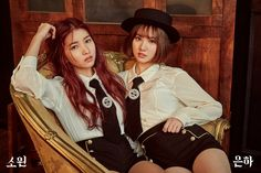[Gfriend] Sowon & Eunha #The_Awakening #Fingertip