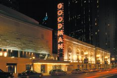 The Goodman Theatre is Chicago's oldest active nonprofit theater organization. Founded in 1925, the theater company received the Regional Theatre Tony award in 1992.     Where I learned my love for the theatre~!