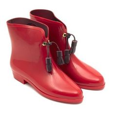 Vivienne Westwood Galosh Ankle Boots - vanda uk    Love them!