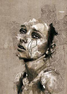 via Illustrated Portraits by Florian Nicolle