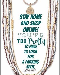 Yay!!! You can now shop online with Premier Designs Jewelry!!