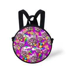7f16b448264 Toddler Baby Girls School Bag Cute Cat Kitty Print Schoolbags for Children  Kawaii Mini Shoulder Book