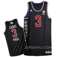 http://www.jordanaj.com/chris-paul-2015-nba-nyc-allstar-western-conference-3-black-jersey.html CHRIS PAUL 2015 NBA NYC ALL-STAR WESTERN CONFERENCE #3 BLACK JERSEY Only $89.00 , Free Shipping!
