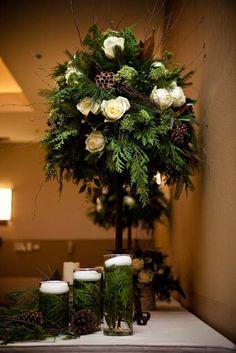 Table Quot Runner Quot Centerpiece Fresh Cedar Evergreen