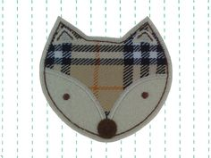 Fox Iron on Patch Applique by twinklespatches on Etsy, $5.99