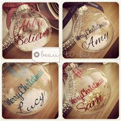 """Personalised baubles at Beau-ti-ful xx #personalised #personalisedgift  #personalisedbauble #bauble #mansfield  #nottingham  #independentshop  #perfectgift  #prettypresent  #shopifypicks  #shoplocal #beautiful  #beautifulgiftshop"" Photo taken by @beautifulgift64 on Instagram, pinned via the InstaPin iOS App! http://www.instapinapp.com (09/17/2015)"