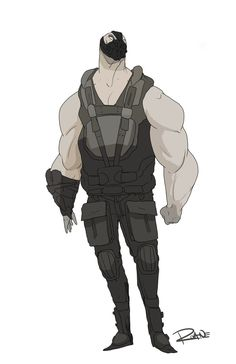 Bane by ~zroane on deviantART ✤    CHARACTER DESIGN REFERENCES   キャラクターデザイン • Find more at https://www.facebook.com/CharacterDesignReferences if you're looking for: #lineart #art #character #design #illustration #expressions #best #animation #drawing #archive #library #reference #anatomy #traditional #sketch #development #artist #pose #settei #gestures #how #to #tutorial #conceptart #modelsheet #cartoon #man #men #male #boy #tough    ✤