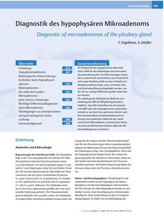 Thieme E-Journals - Radiologie up2date / Abstract