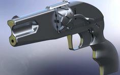 A New 3D Printable Gun, The 'Imura Revolver' is Being Designed http://3dprint.com/15556/3d-printable-gun-revolver/