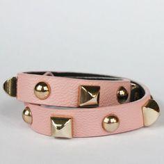 why hello gorgeous // Kristin Hassan leather wrap bracelet
