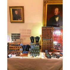 A picture of our stall at the beautiful #stonegatehouse...