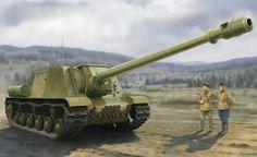 Papéis de parede Artilharia automotriz Desenhado ISU-152-2 BL-10 Exercito