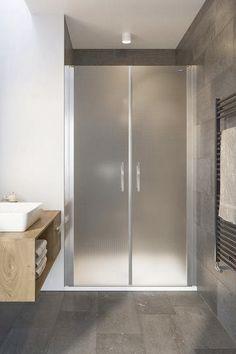 2-flügelige Pendeltür in Nische. Glasvariante Mastercarrée. Divider, Room, Furniture, Home Decor, Luxury, Bedroom, Decoration Home, Room Decor, Rooms