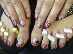 My Mickey nail art!