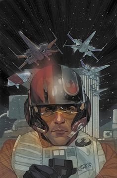 Coming in April from MARVEL COMICS- POE DAMERON - an ongoing comic series by Charles Soule and Phil Noto! Star Wars The Force Awakens