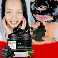 Weixinbuy Women Men Bamboo Charcoal Blackhead Remover Deep Clean Purifying Peel Off Mud Facial Mask ** You can find more details by visiting the image link. (This is an affiliate link) Face Peel Mask, Peel Off Mask, Blackhead Mask, Blackhead Remover, Deep Cleansing Facial, Cleansing Mask, Charcoal Mask Peel, Face Mask For Blackheads, Pores