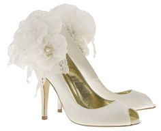 Della Sky Blossom by Freya Rose. Wedding Shoes. http://www.freyarose.co.uk/product/della-sky-blossom/#