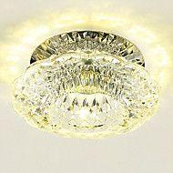 3W+Moderni+Kristalli+/+LED+/+Minityyli+UppoasennusLiving+Room+/+Makuuhuone+/+Ruokailuhuone+/+Kitchen+/+Kylpyhuone+/+Työhuone/toimisto+/+–+EUR+€+27.13