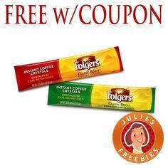Free Folger's Stick Packs at Target