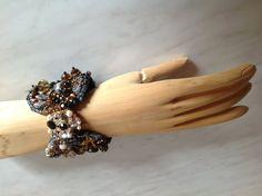 Den passenden Verschluß zum Perlenarmband - designt von Anke Weidner
