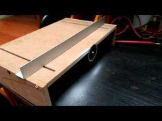Mini mesa de corte - YouTube