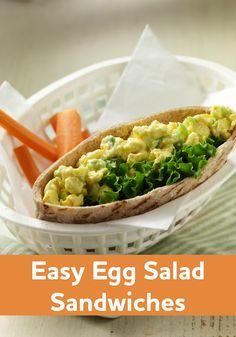 ... Eggs on Pinterest | Egg salad, Egg salad sandwiches and Deviled eggs