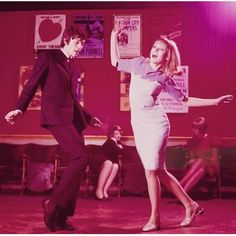 A Young Couple, dancing is nightclub (1965) Instagram