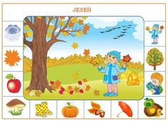 Paysage et elements Autumn Activities, Learning Activities, Kids Learning, Activities For Kids, Weather For Kids, Visual Perception Activities, Arabic Alphabet For Kids, English For Beginners, Alphabet Templates