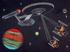 Star Trek String Art
