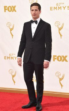 Andy Samberg from 2015 Emmys: Red Carpet Arrivals