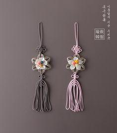 매듭꽃노리개